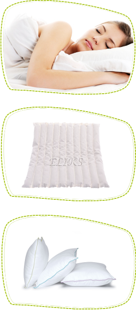 Polish buckwheat products – pillows, neck rolls, mattresses